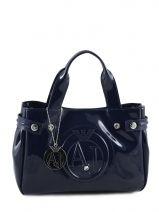 Minitasje Vernice Lucida Gelakt Armani jeans Blauw vernice lucida 5235-55