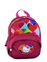 Rugzak 1 Compartiment Hello kitty Roze free bag's HPS22075
