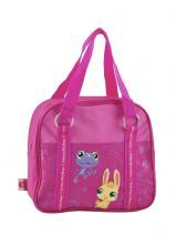 Sac Porte Epaule Little petshop Roze peace and love 50796GPS