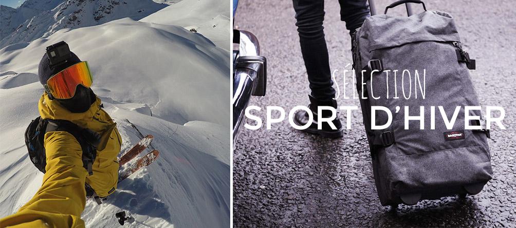 bagage sport d'hiver sur edisac